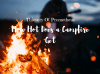 Thievery Of Prometheus – How Hot Does a Campfire Get