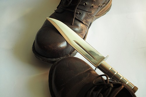 Boot and Knife