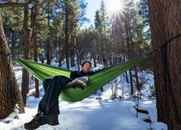 How To Stay Warm In A Hammock Outdoors