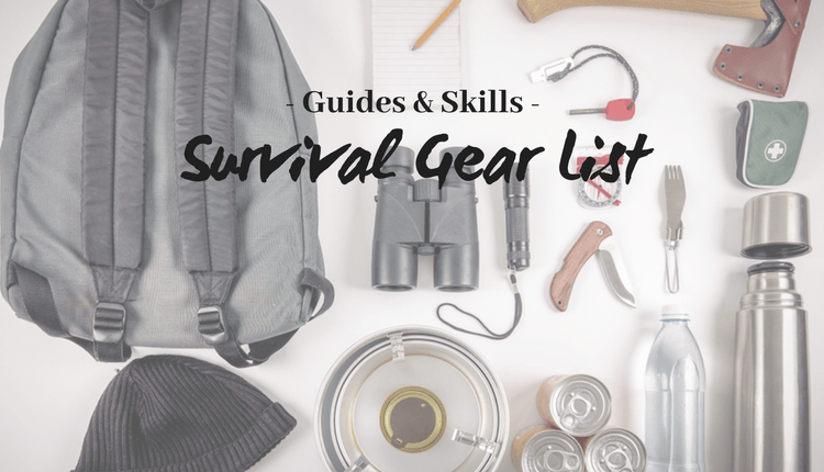 Survival Gear List