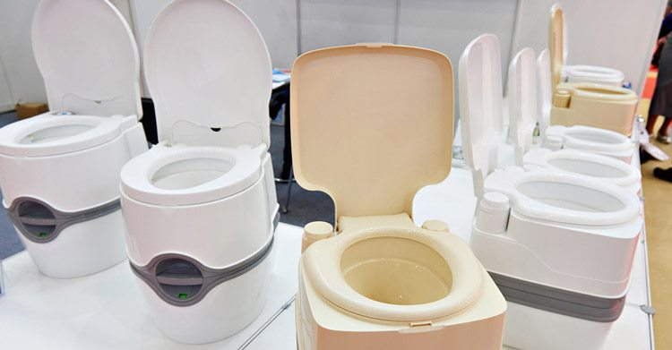 portable rv toilets